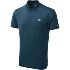 Dare 2b Delineate Polo Homme, majolica blue
